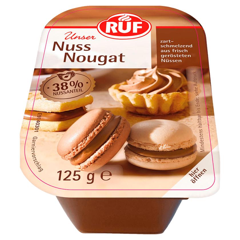 Ruf Nuss-Nougat 125g