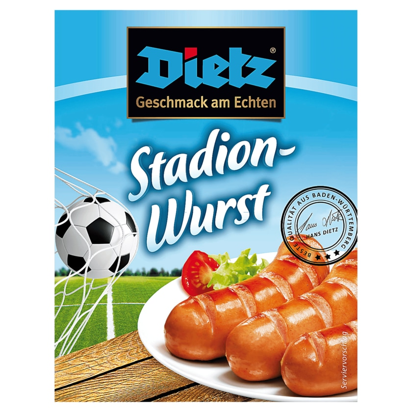 Dietz Stadionwurst nach Art Roter Wurst 6x100g