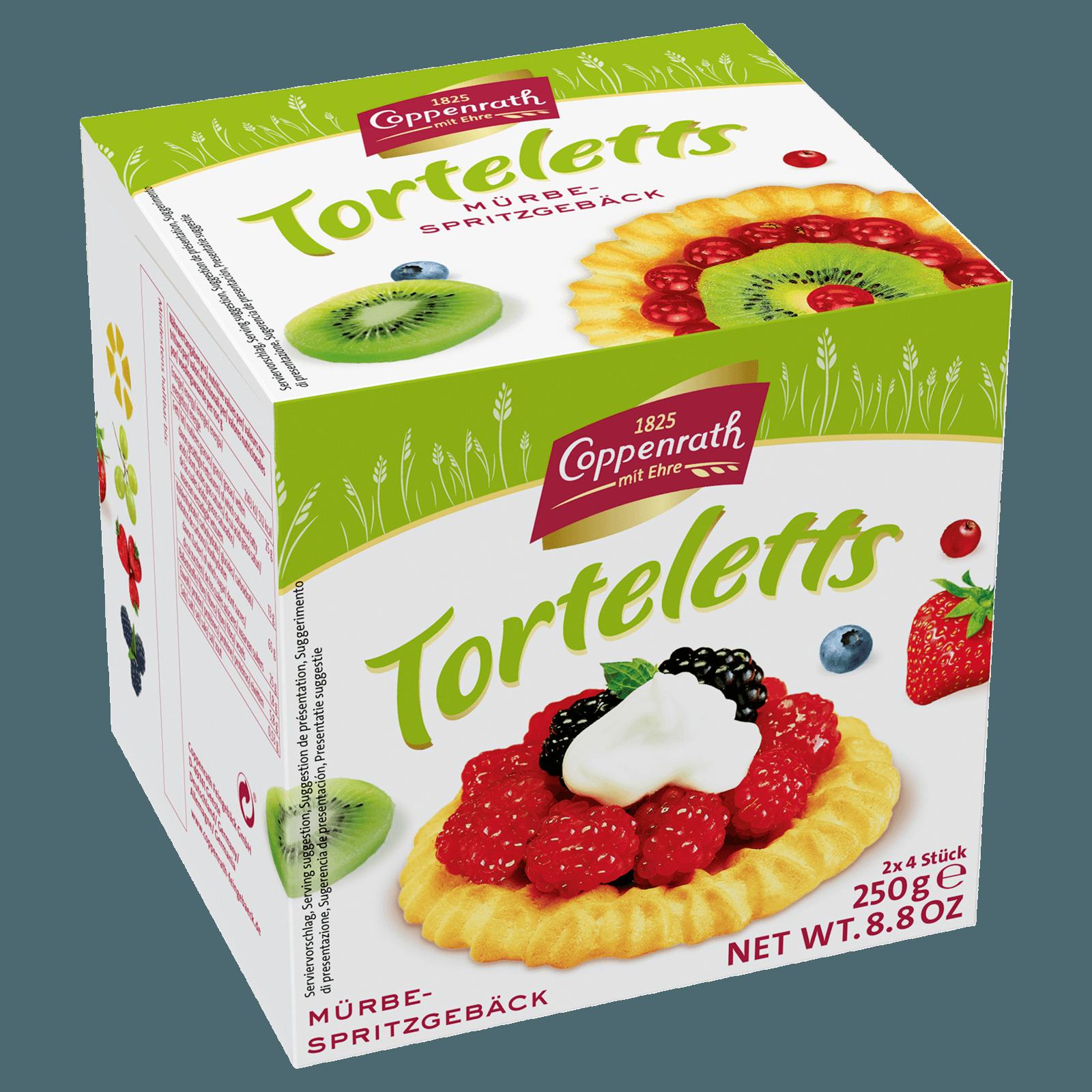 Coppenrath Torteletts 250g 8 Stück