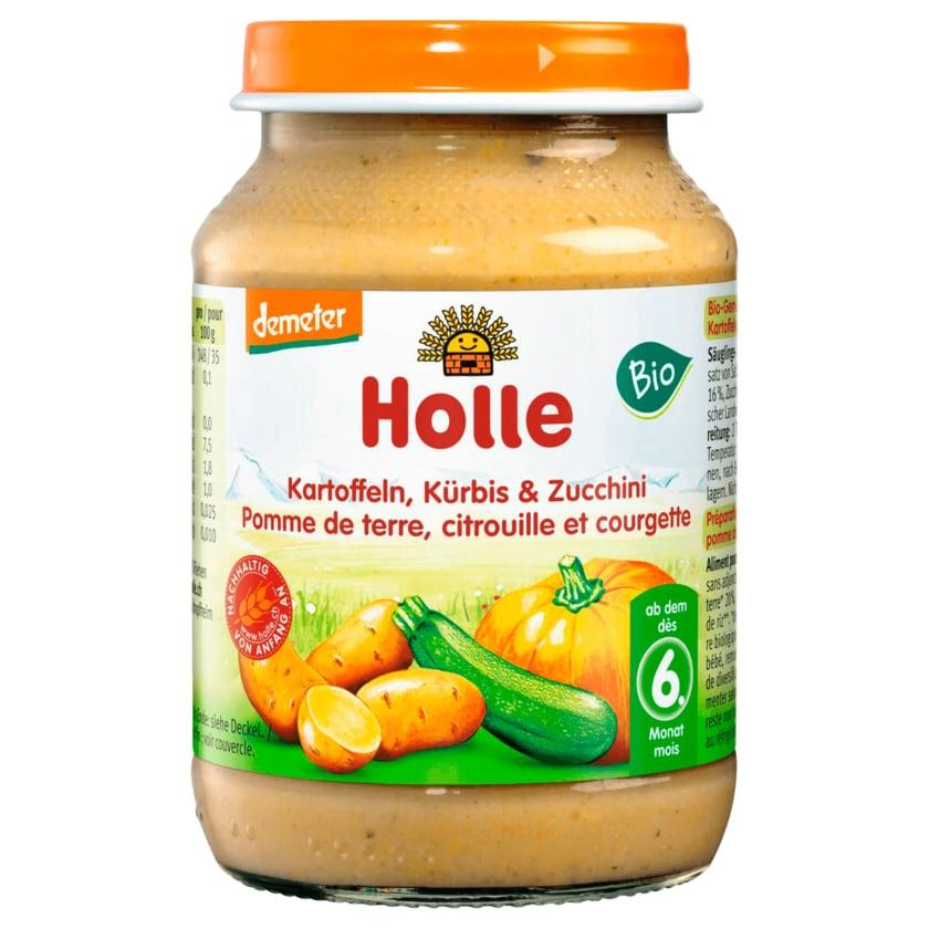 Holle Bio Demeter Kartoffeln, Kürbis, Zucchini ab dem 6. Monat 190g