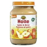Demeter Bio Holle Apfel & Birne ab dem 4. Monat 190g