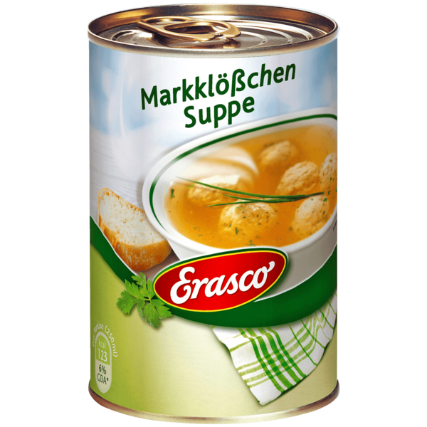 Erasco Markklößchen-Suppe 390ml