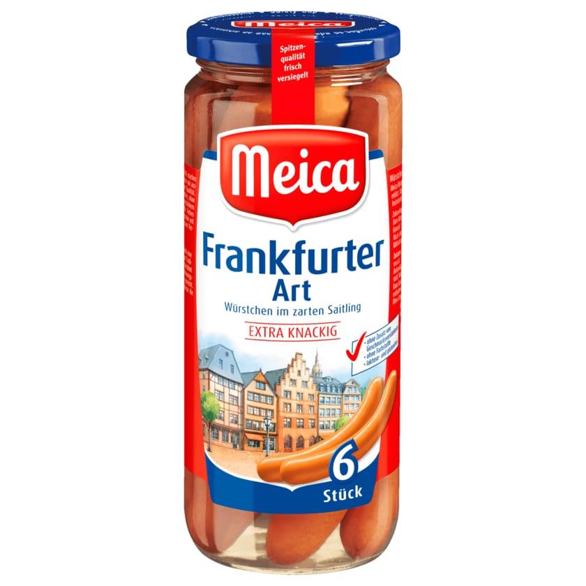 Meica Frankfurter extra knackig 250g, 6 Stück