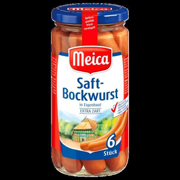 Meica Saft-Bockwurst extra zart 180g, 6 Stück