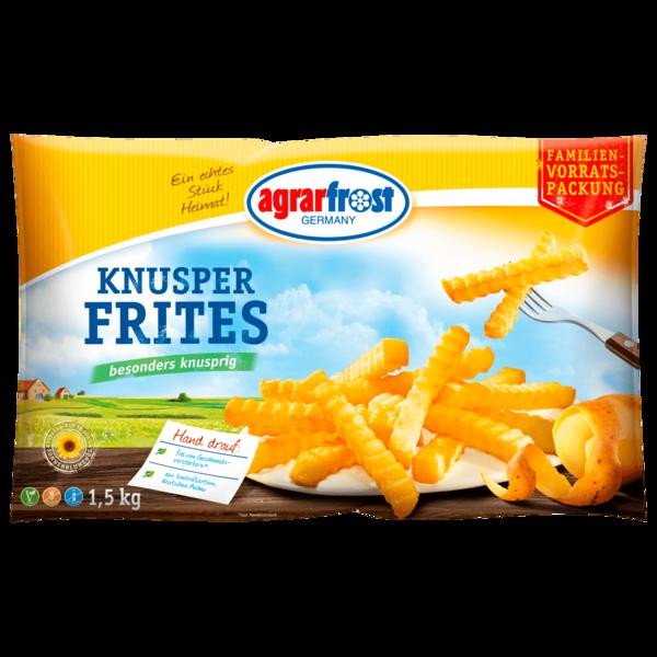 Agrarfrost Knusper Frites 1,5kg