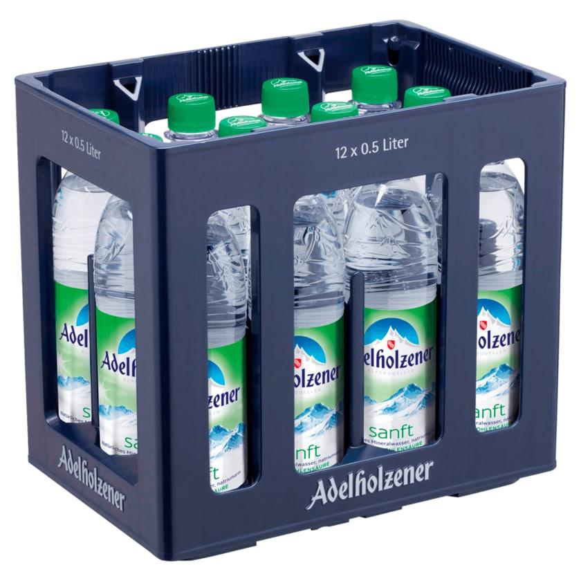 Adelholzener Mineralwasser Sanft 12x0,5l