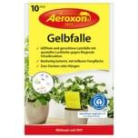 Aeroxon Gelbfalle für Topfpflanzen 10 Stück