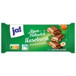 ja! Schokolade Alpenvollmilch-Nuss 100g