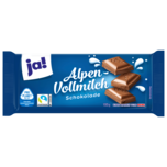 ja! Alpenvollmilch-Schokolade 100g