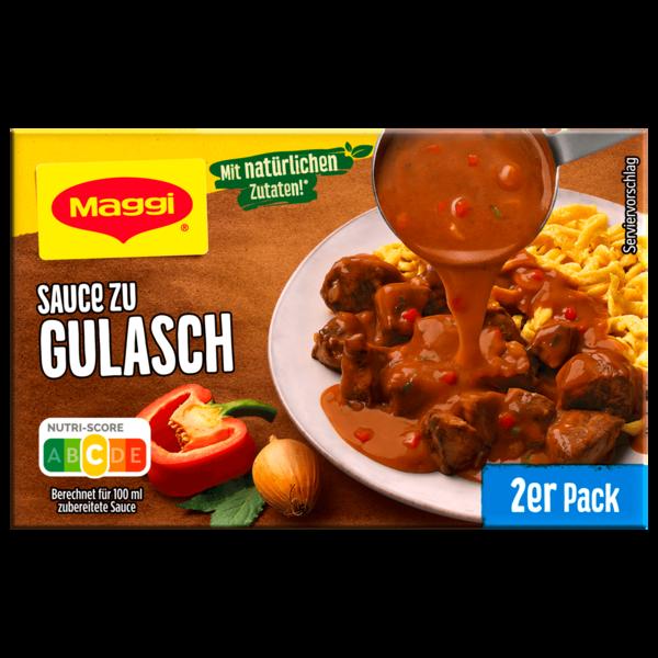 Maggi Sauce zu Gulasch 2er Pack ergibt 2x250ml