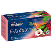 Meßmer 6-Kräuter-Mischung 50g, 25 Beutel
