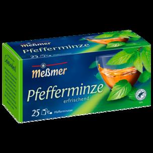 Meßmer Pfefferminze 56g, 25 Beutel