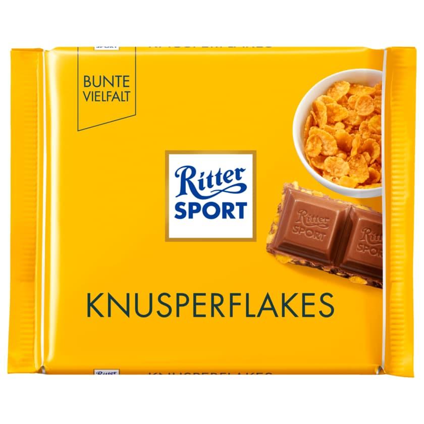 Ritter Sport Schokolade Knusperflakes 100g
