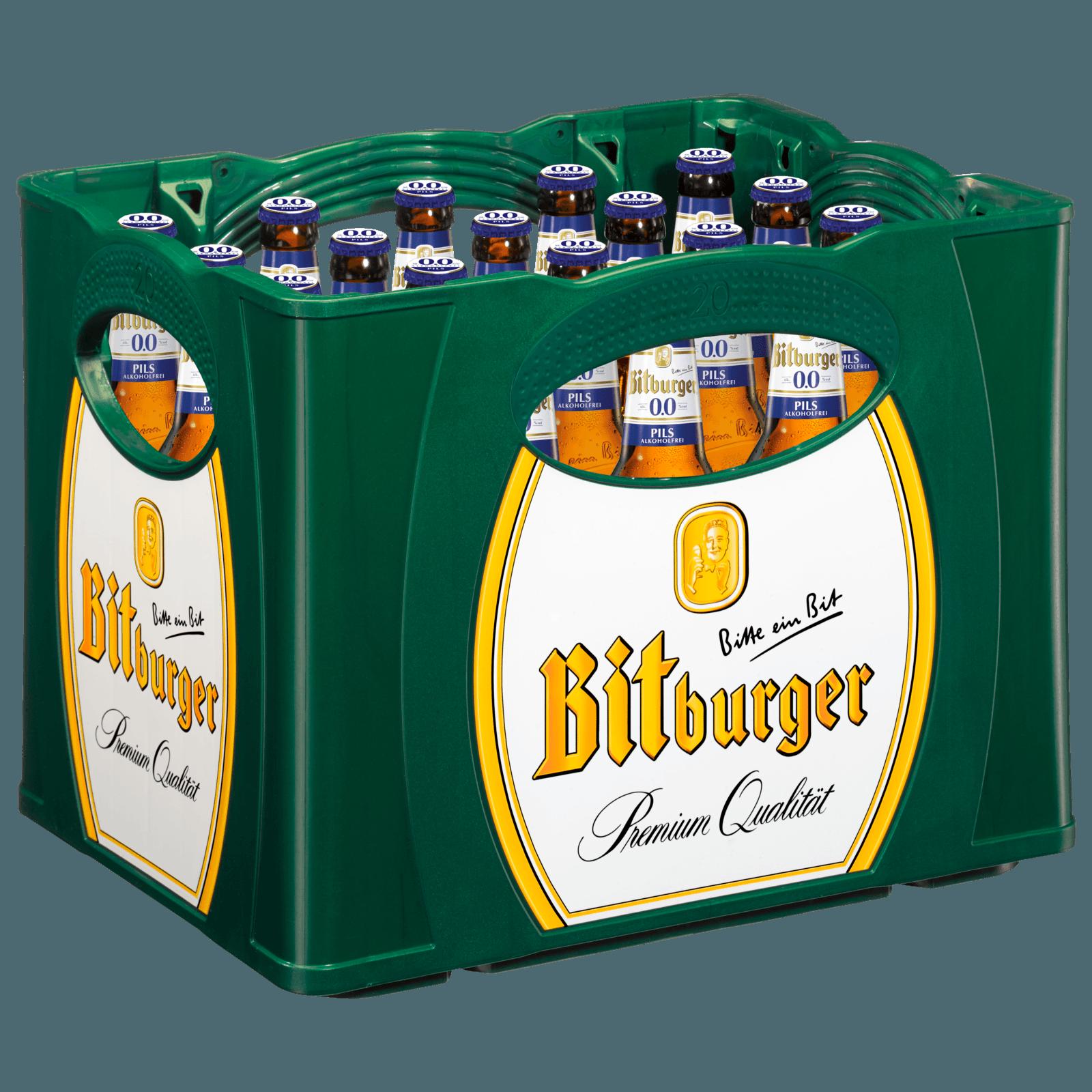 Bitburger 00 Alkoholfrei 20x05l
