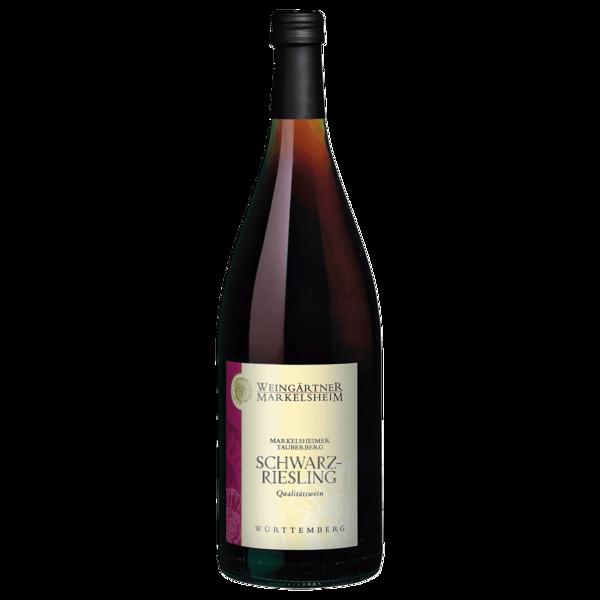 Weingärtner Markelsheim Rotwein Schwarzriesling QbA fruchtig 1l