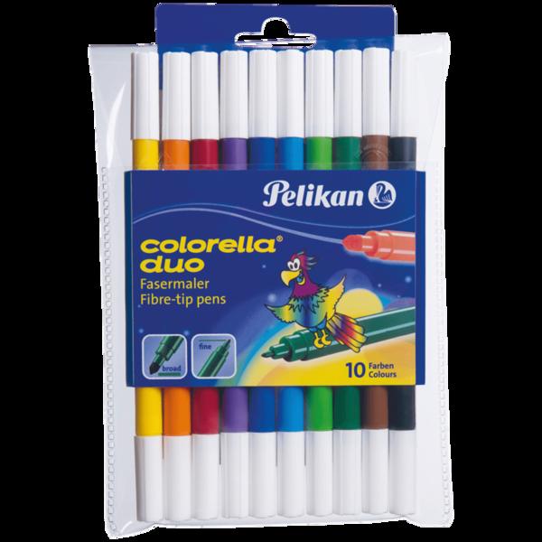 Pelikan Fasermaler Colorella Duo 10 Stück