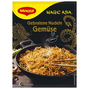 Maggi Magic Asia Gebratene Nudeln Gemüse 124g