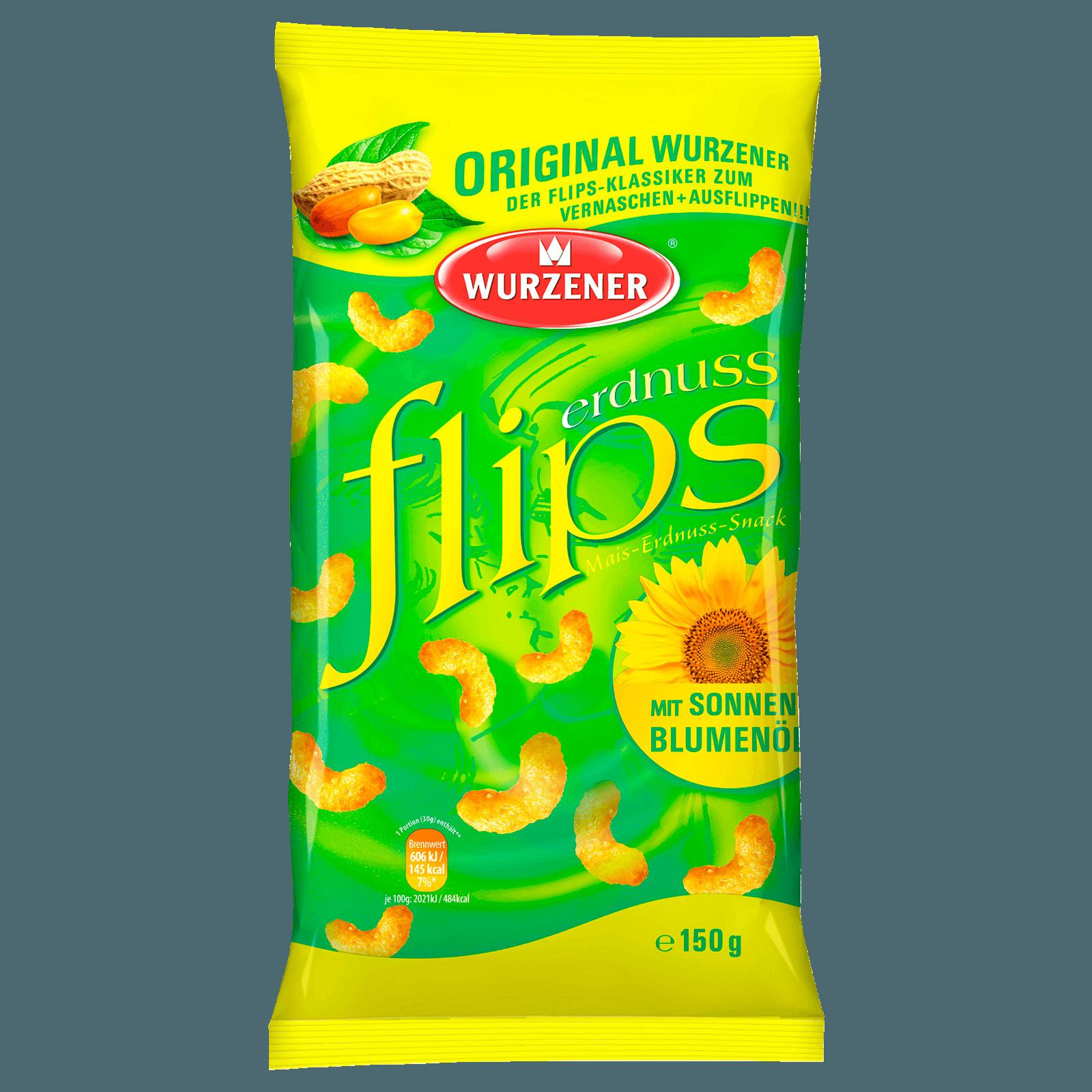 Wurzener Erdnussflips 150g