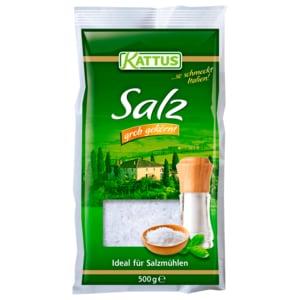 Kattus Salz grob gekörnt 500g
