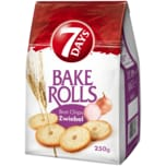 7 Days Bake Rolls Brot Chips Zwiebel 250g