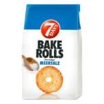 7 Days Bake Rolls Brot Chips Meersalz 250g