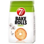 7 Days Bake Rolls Brot Chips Knoblauch 250g