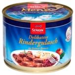 Simon Delikatess Rindergulasch in feiner Sauce 500g