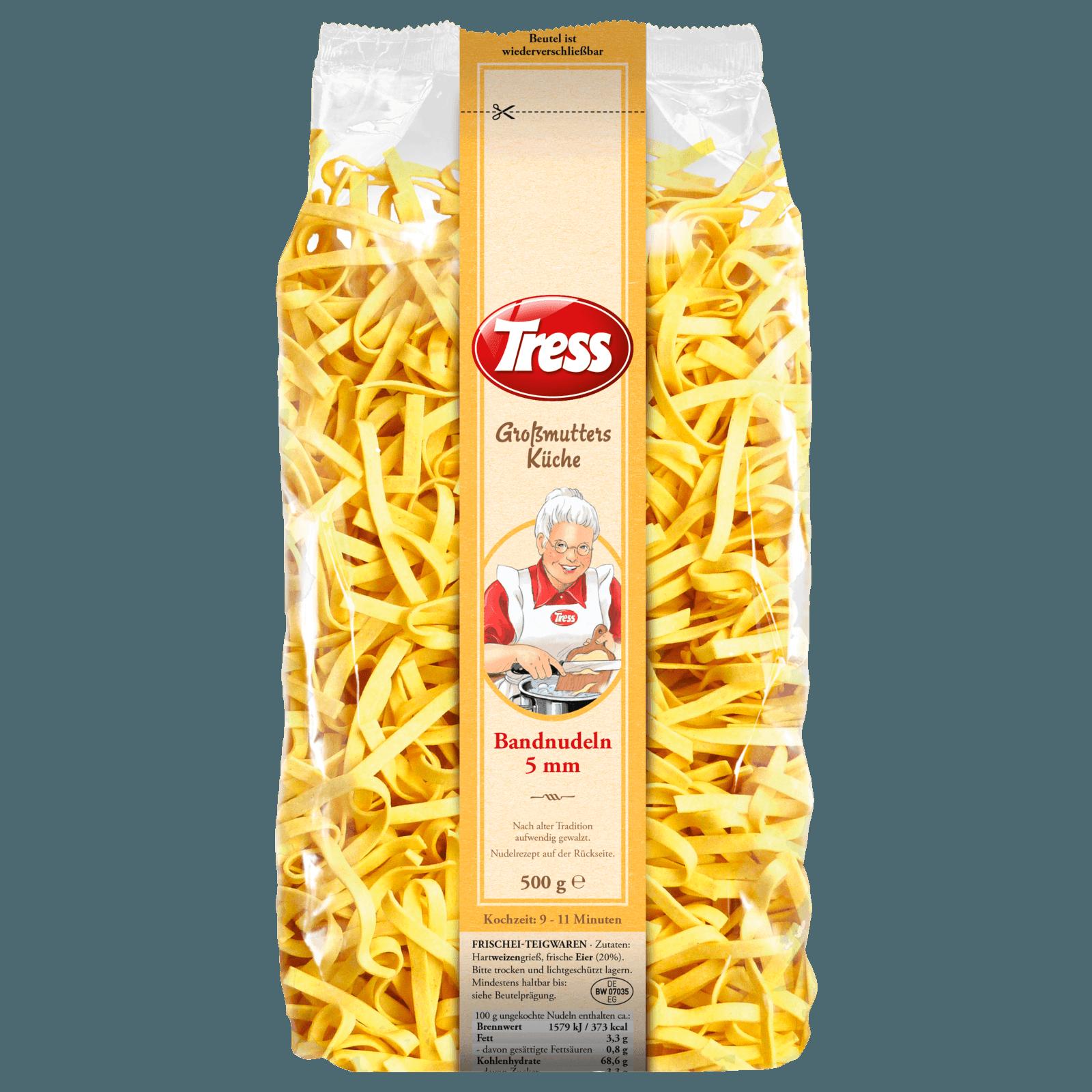 Tress Großmutters Küche Bandnudeln 5mm 500g