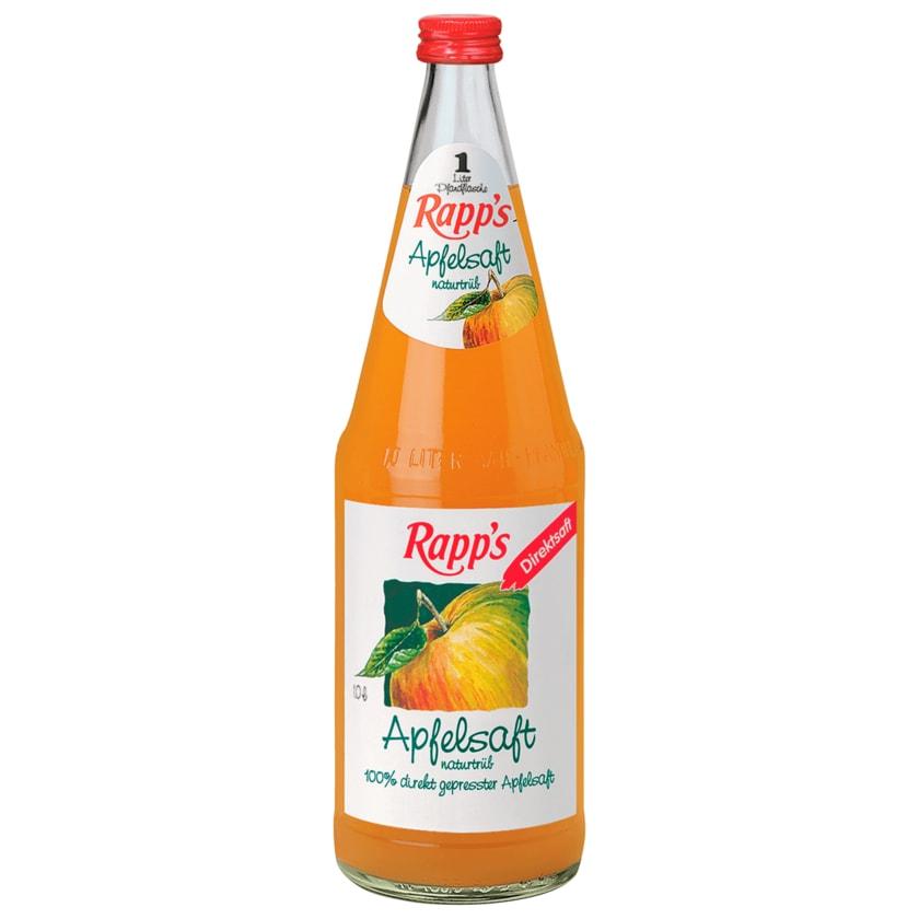Rapp's Apfelsaft naturtrüb 1l