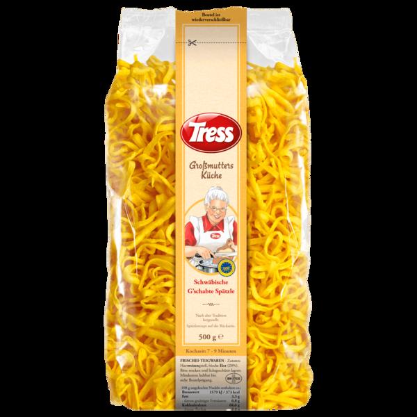 Tress Großmutters Küche Schwäbische G'schabte Spätzle 500g