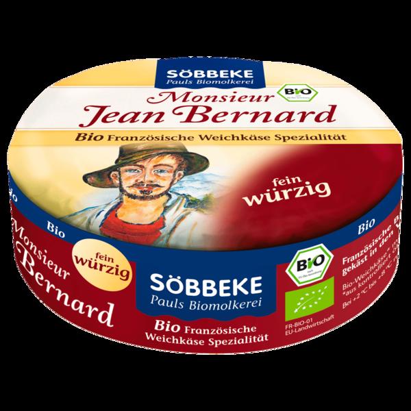 Söbbeke Bio Weichkäse Monsieur Jean Bernard 60% 200g