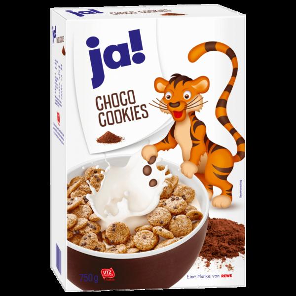 ja! Choco-Cookies 750g