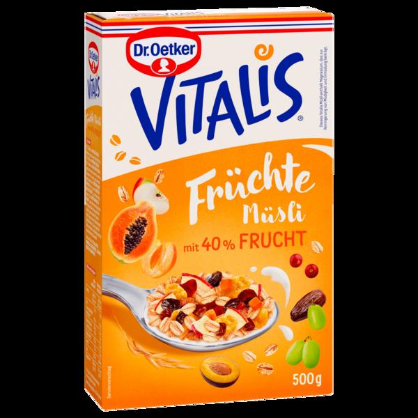 Dr. Oetker Vitalis Früchtemüsli 500g