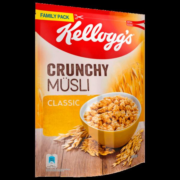 Kellogg's Crunchy Müsli Classic 800g