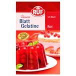 Ruf Blatt-Gelatine Rot 20g