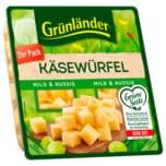 Grünländer Würfel Mild & Nussig 120g