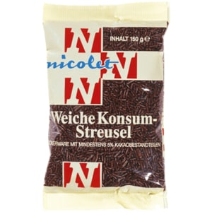 Nicolet Weiche Konsum-Streusel 150g