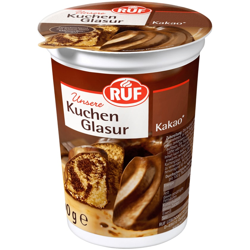 Ruf Kakao-Glasur 500g