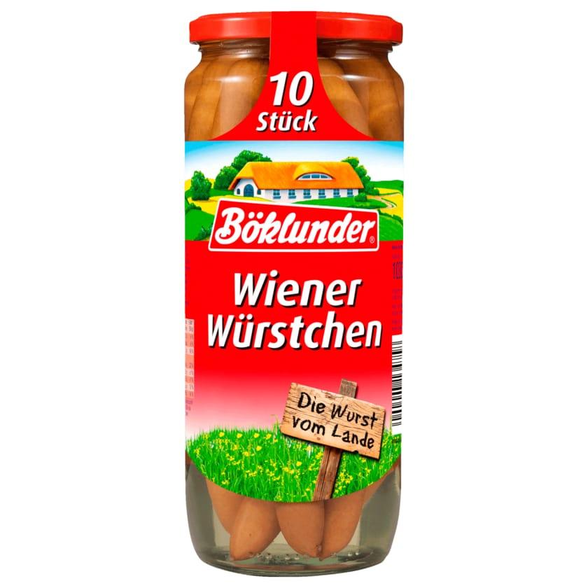 Böklunder Wiener Würstchen im Saitling 500g, 10 Stück