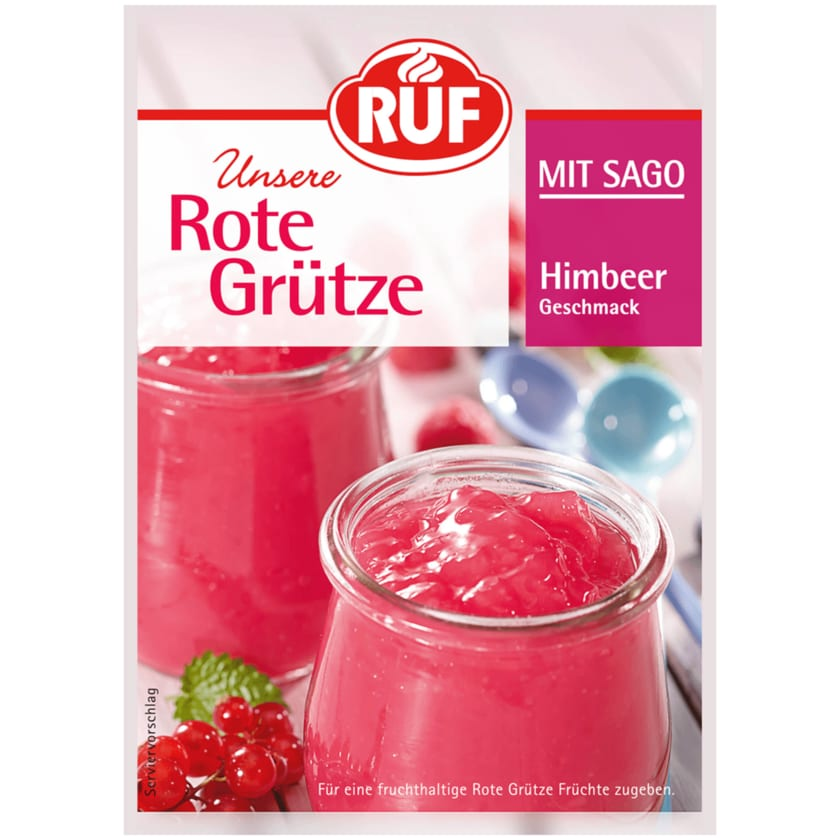 Ruf Rote Grütze Himbeere 129g