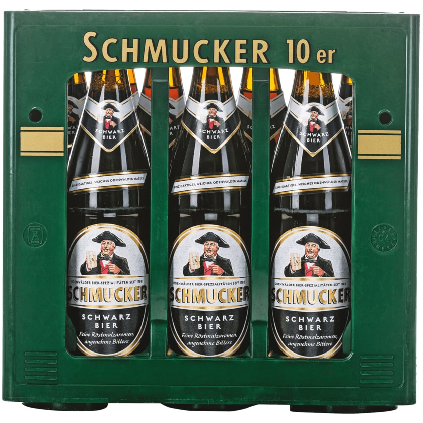 Schmucker Schwarzbier 10x0,5l