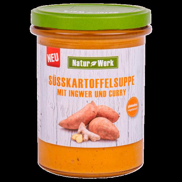 Natur Werk Süsskartoffelsuppe mit Ingwer und Curry 400g