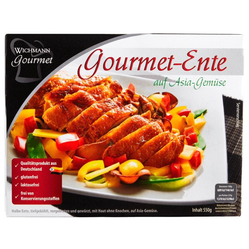 Wichmann Gourmet Ente auf Asia Gemüse 550g