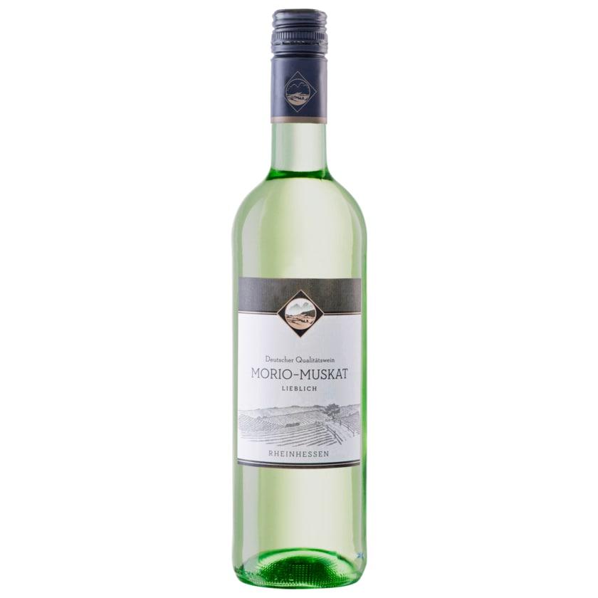 Morio Weißwein Muskat QbA lieblich 0,75l