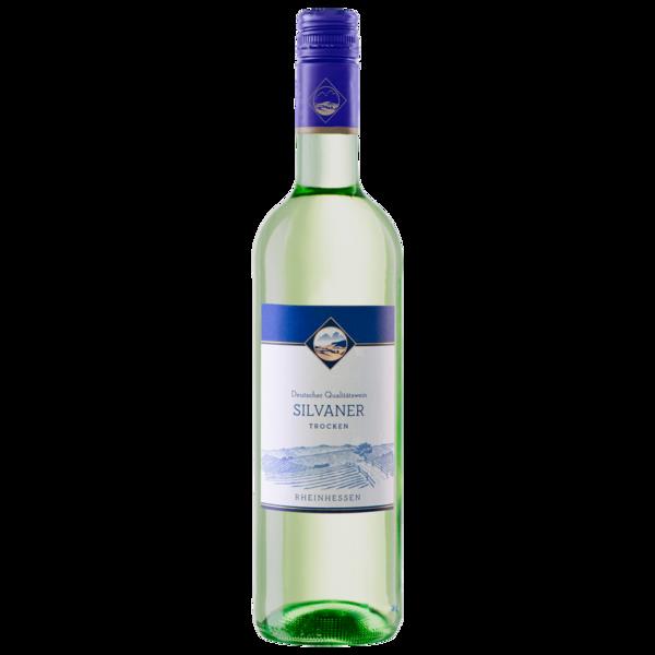 Deutscher Qualitätswein Weißwein Silvaner QbA trocken 0,75l