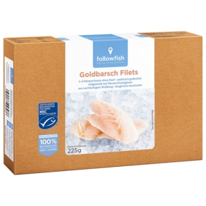 Followfish Goldbarsch Filets 225g