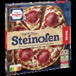 Original Wagner Pizza Steinofen Pizza Salami Tiefgekühlt 320g