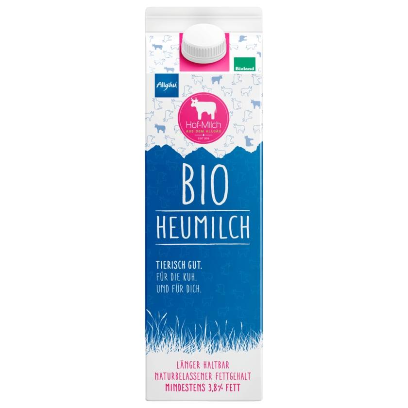 Allgäuer Hof-Milch Bio Heumilch 3,8% 1l