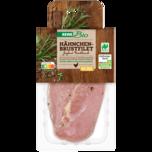 REWE Bio Hähnchen Brustfilet Joghurt Knoblauch 320g