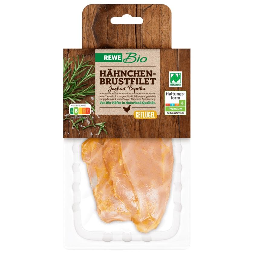 REWE Bio Hähnchen Brustfilet Joghurt Paprika 320g